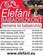 Elefáni Babadiszkont Kismama és Babaszakáruházak - Alföldapró.hu -  Apróhirdetés 53d6b53030